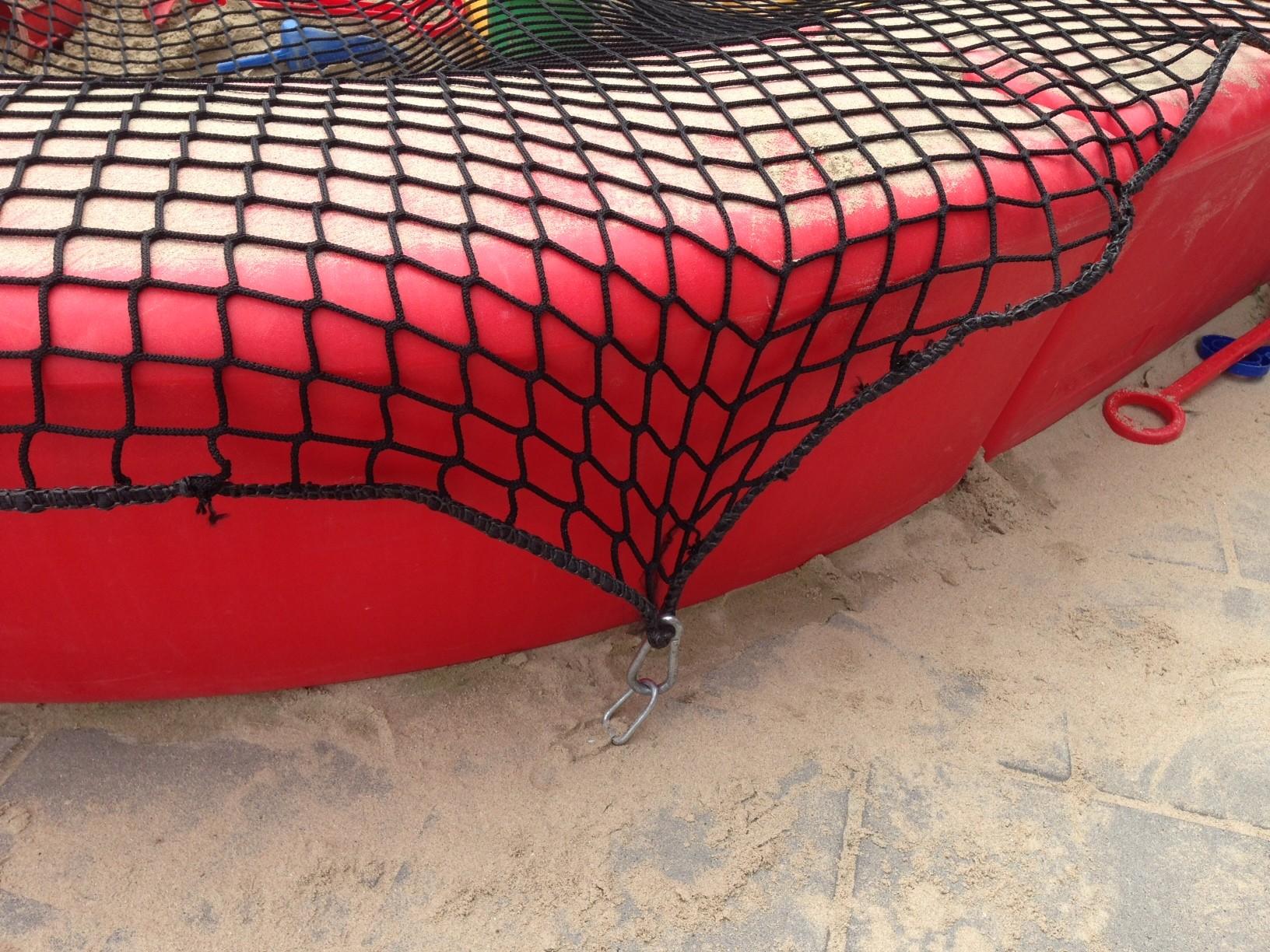 Loop zandbak gemaakt van polyethyleen