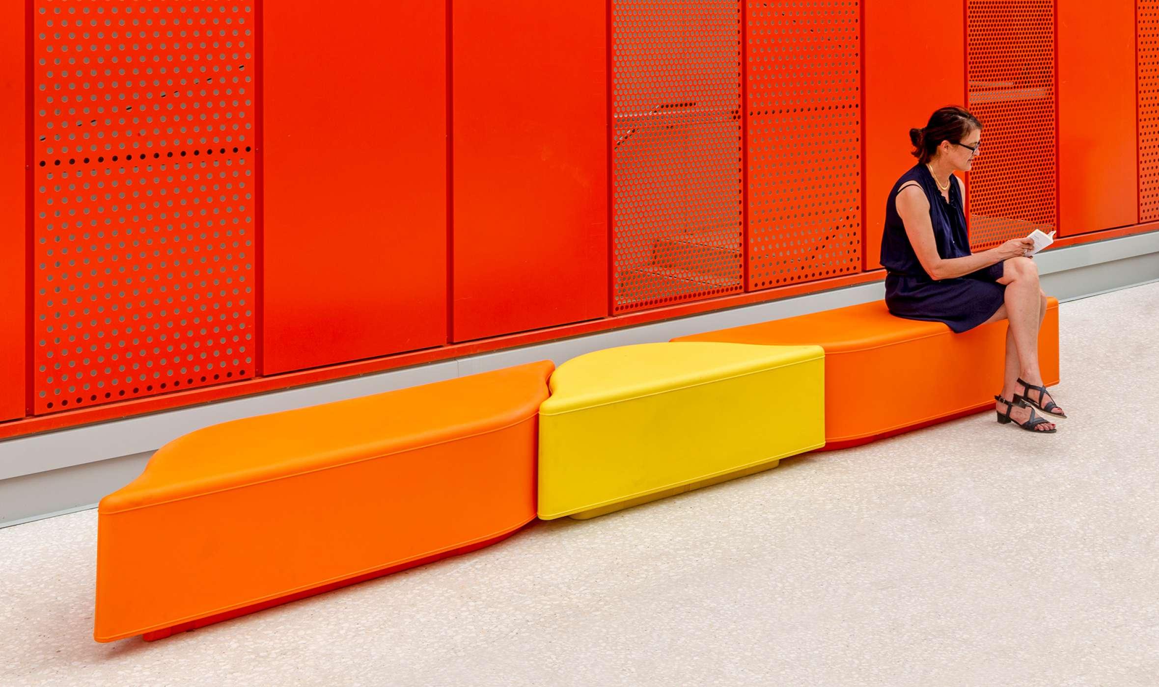 Lungo bank zorgt voor een kleurrijke omgeving