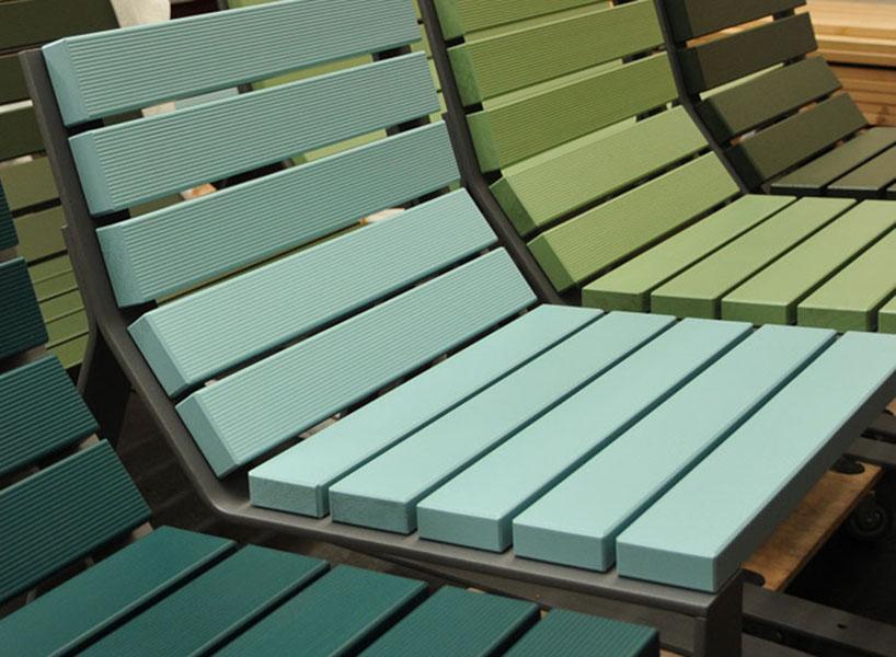 Mayfield stoel beschikbaar in verschillende kleuren