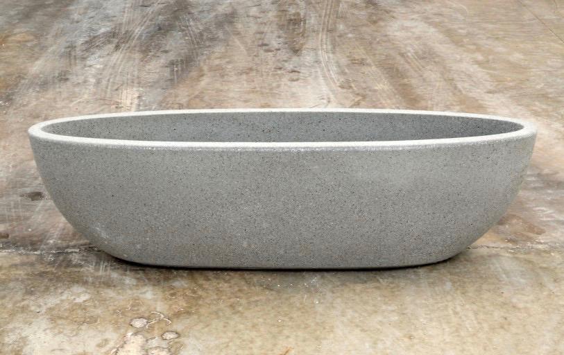 Nau plantenbak - grijs