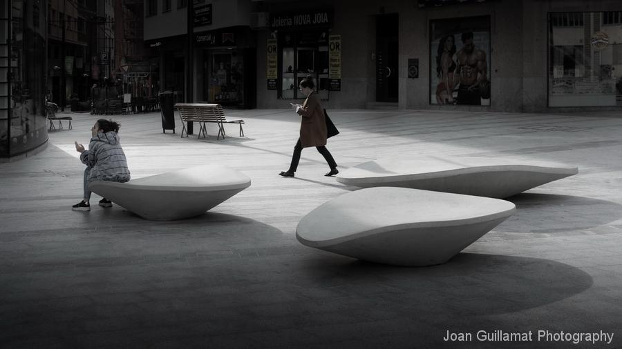 Núvol zitelement ideaal voor de openbare ruimte