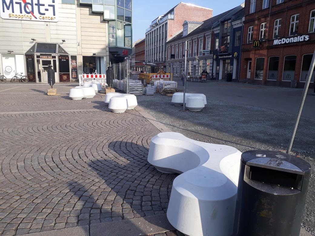 Obstruct zitelement geschikt voor elke openbare ruimte