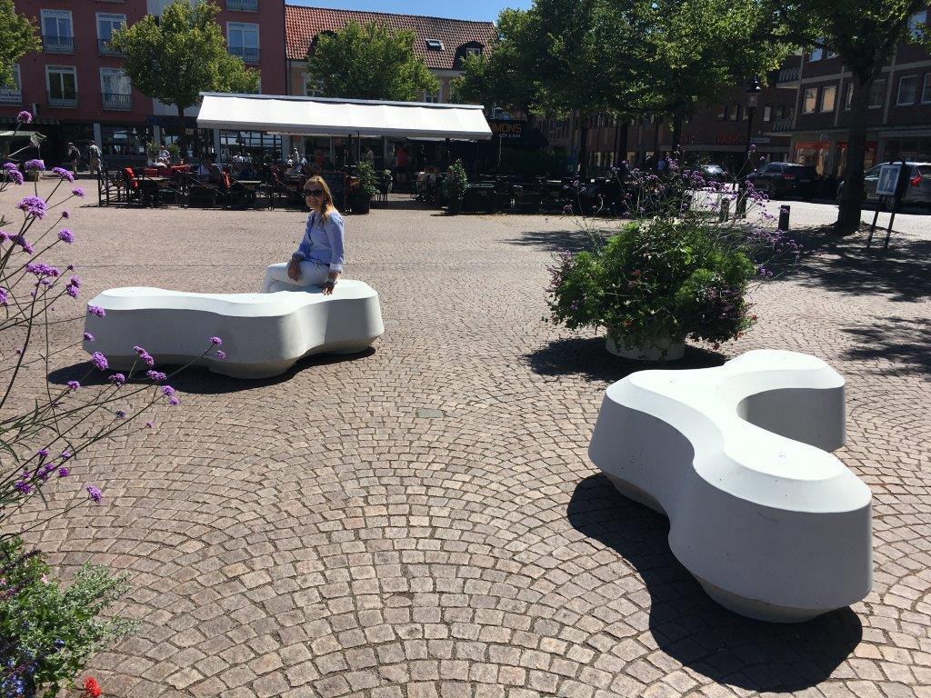 Obstruct zitelement - voor parken