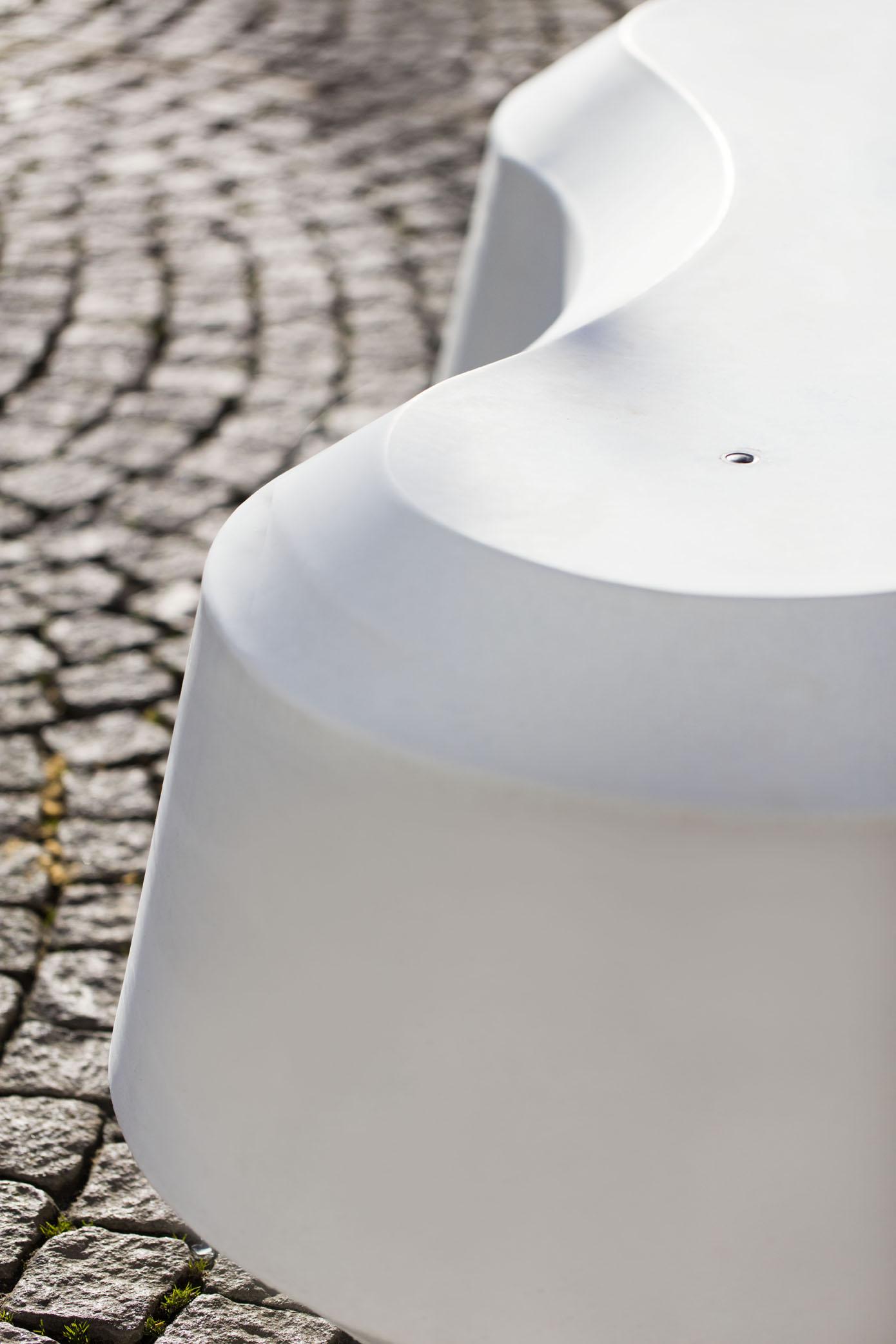 Obstruct zitelement van gewapend beton
