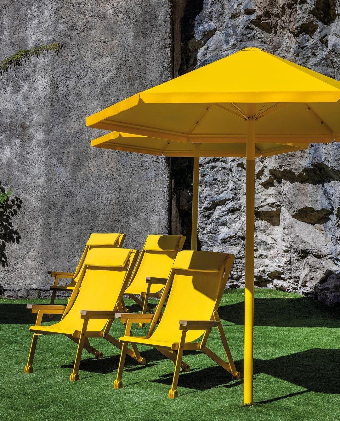 Four seasons parasol - genieten in de schaduw