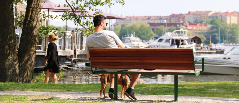 Parco bank nodigt uit om te rusten en in contact te komen met anderen