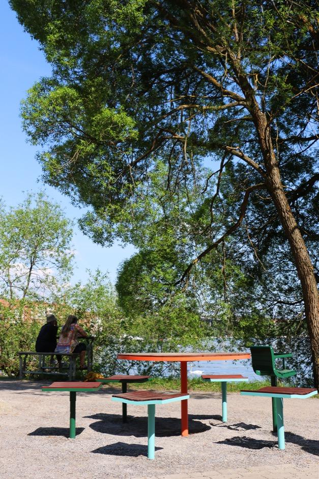 Parco tafel ook geschikt voor speeltuinen, tuinen en pleinen