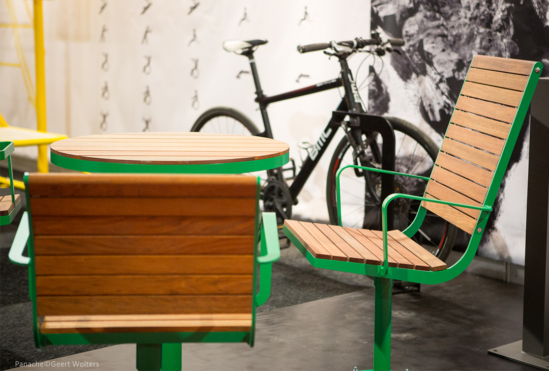 Parco tafel - frame is in verschillende kleuren beschikbaar