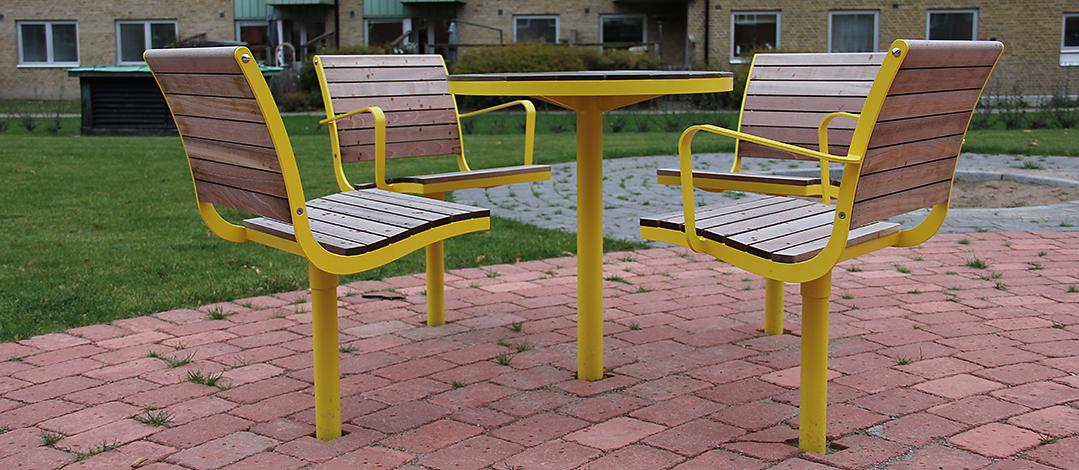 Parco tafel beschikbaar in verschillende ronde en rechthoekige varianten