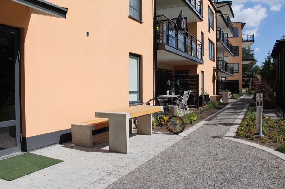 Paxa tafel is geschikt voor de openbare buitenruimte