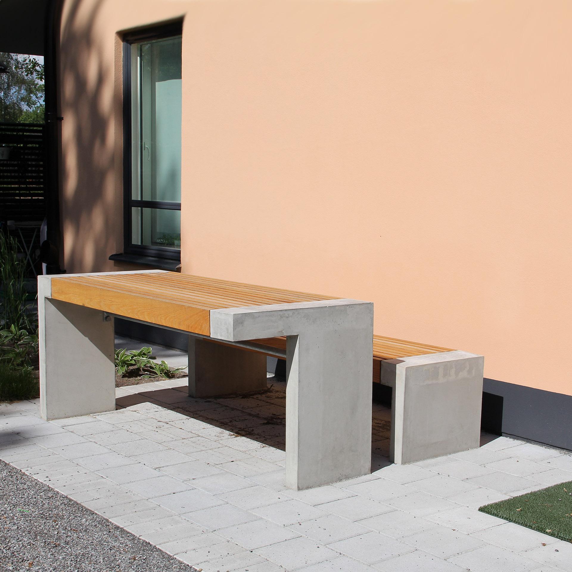 Paxa tafel geschikt voor de openbare binnen- en buitenruimte