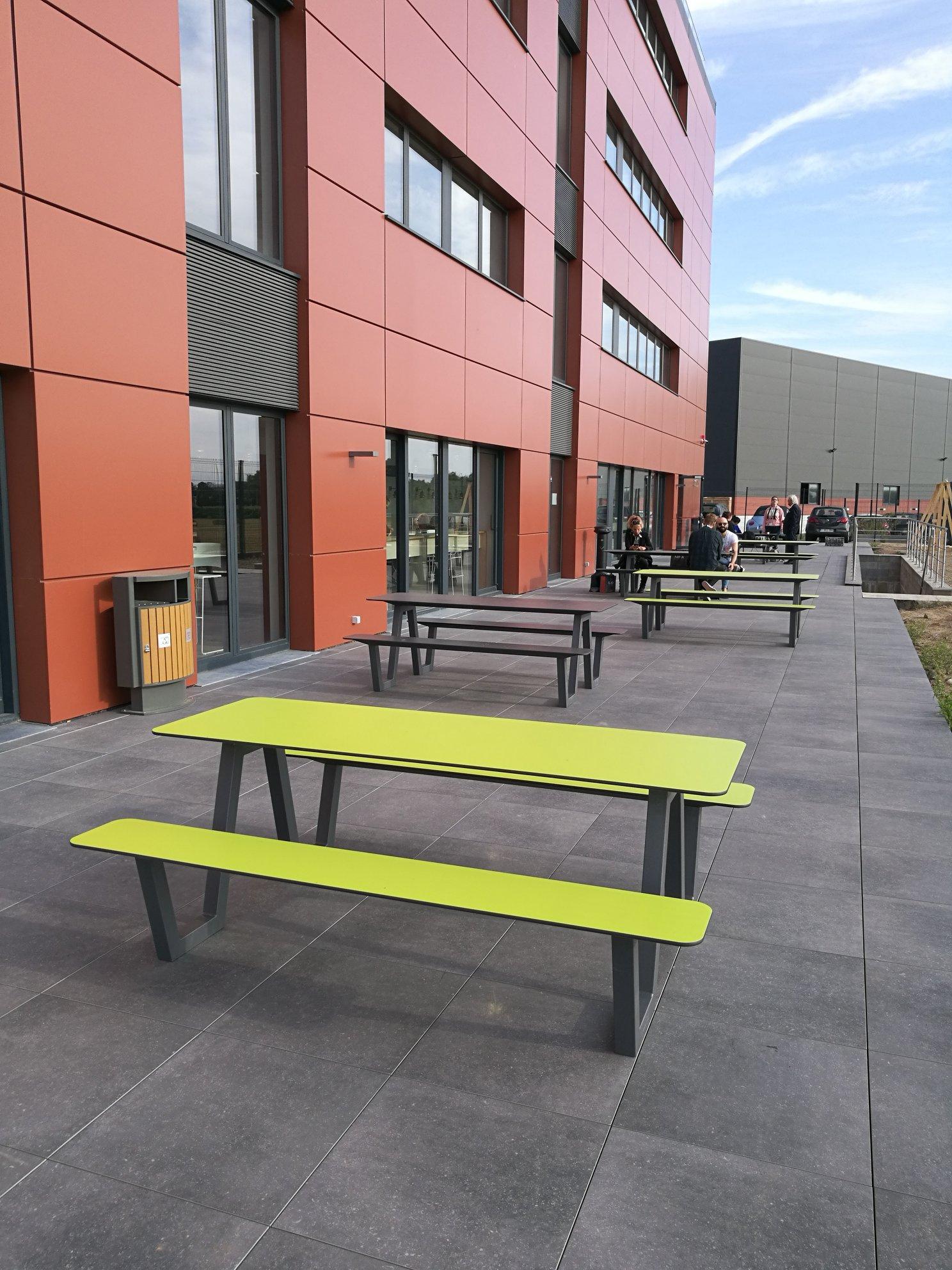 Picnic HPL picknicktafel perfect voor scholen