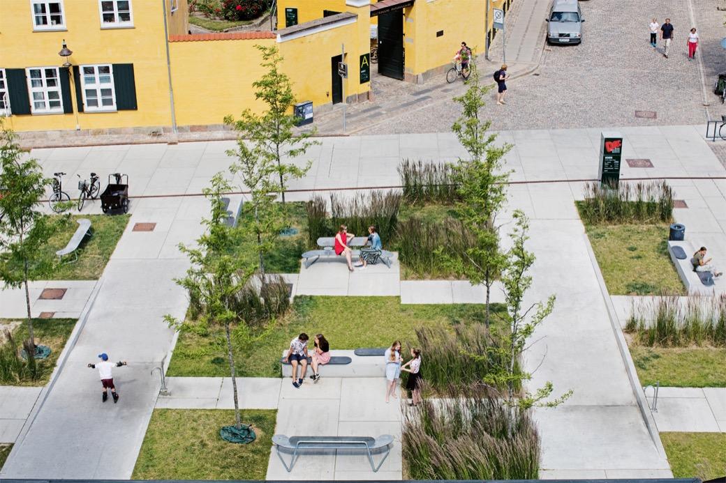 Plateau Bank ideaal voor de openbare ruimte