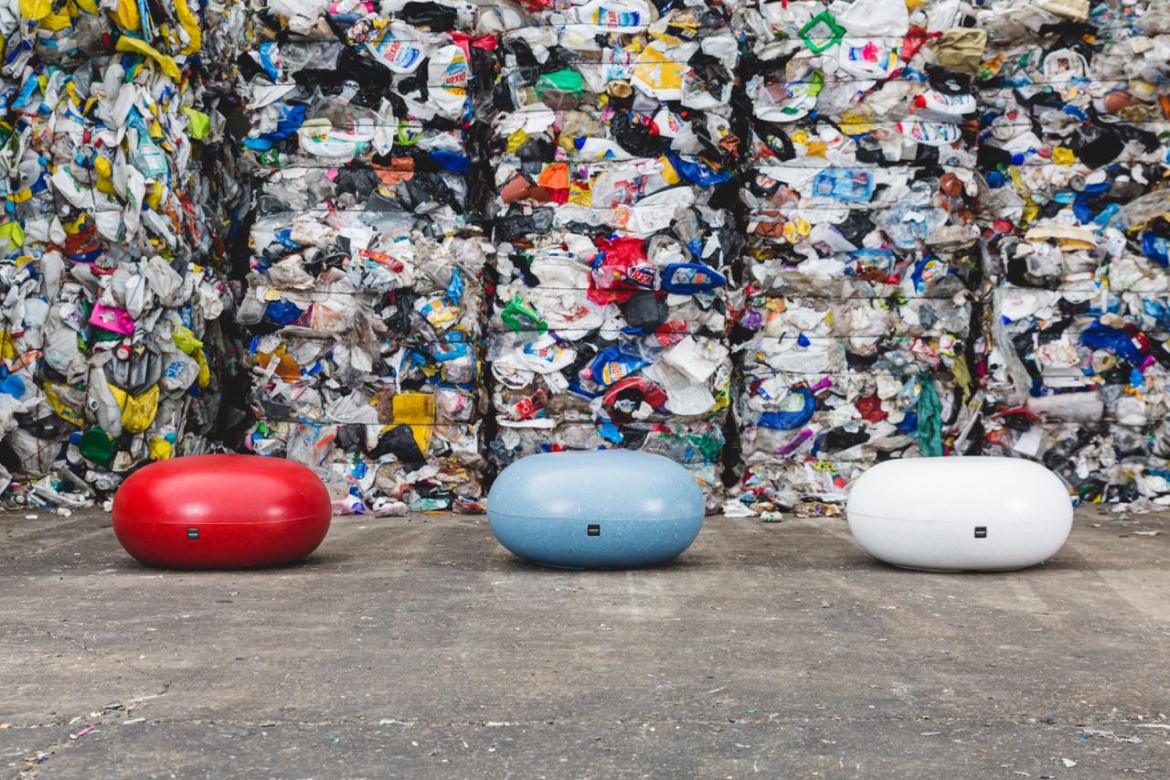 Rio zitelement gemaakt van gerecycled polyethyleen