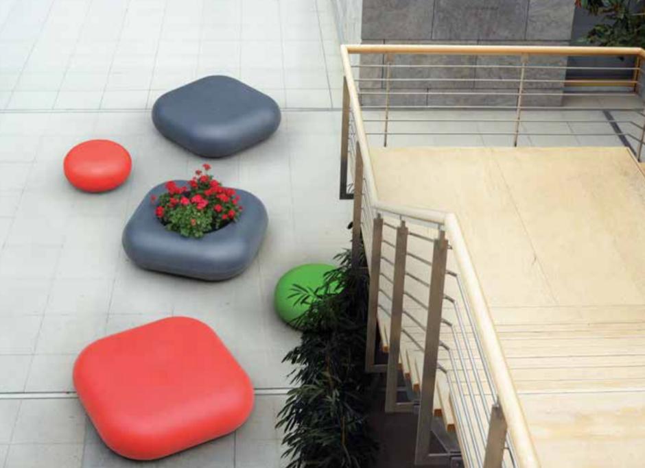 Rio zitelement - meubilair voor de binnenruimte
