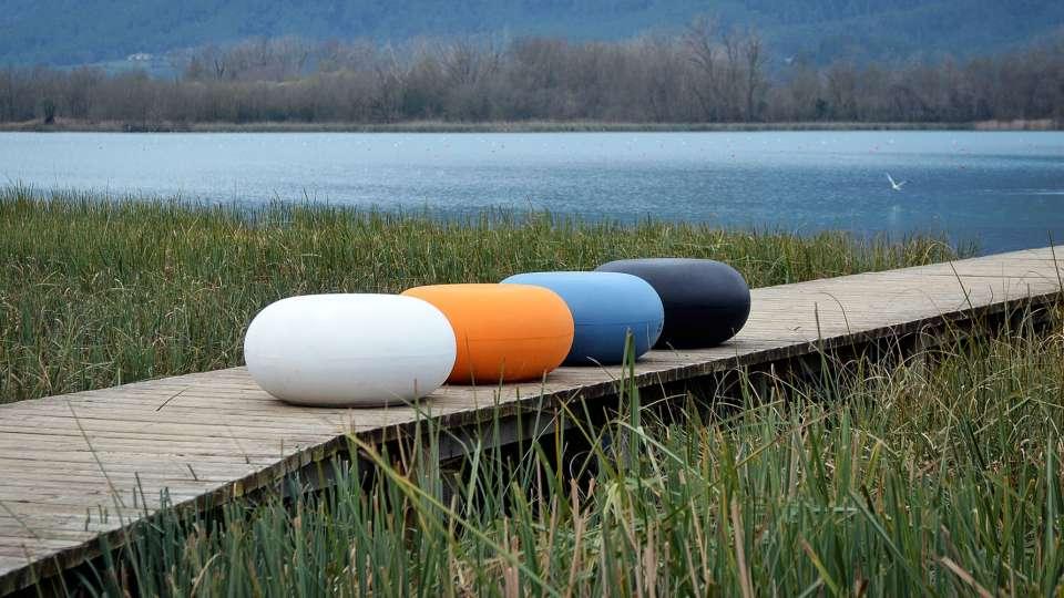 Rio zitelement beschikbaar in felle kleuren
