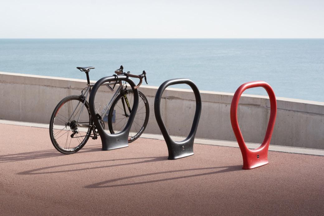 Superlock fietsbeugel voor op straat