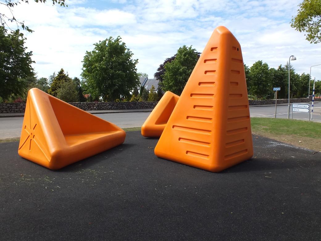 Satellite speelelement geschikt voor alle openbare ruimtes