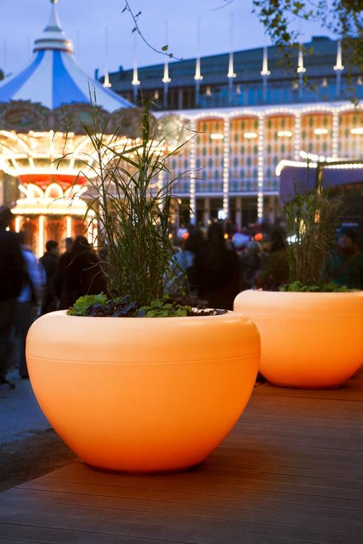Scoop Light plantenbak met verlichting
