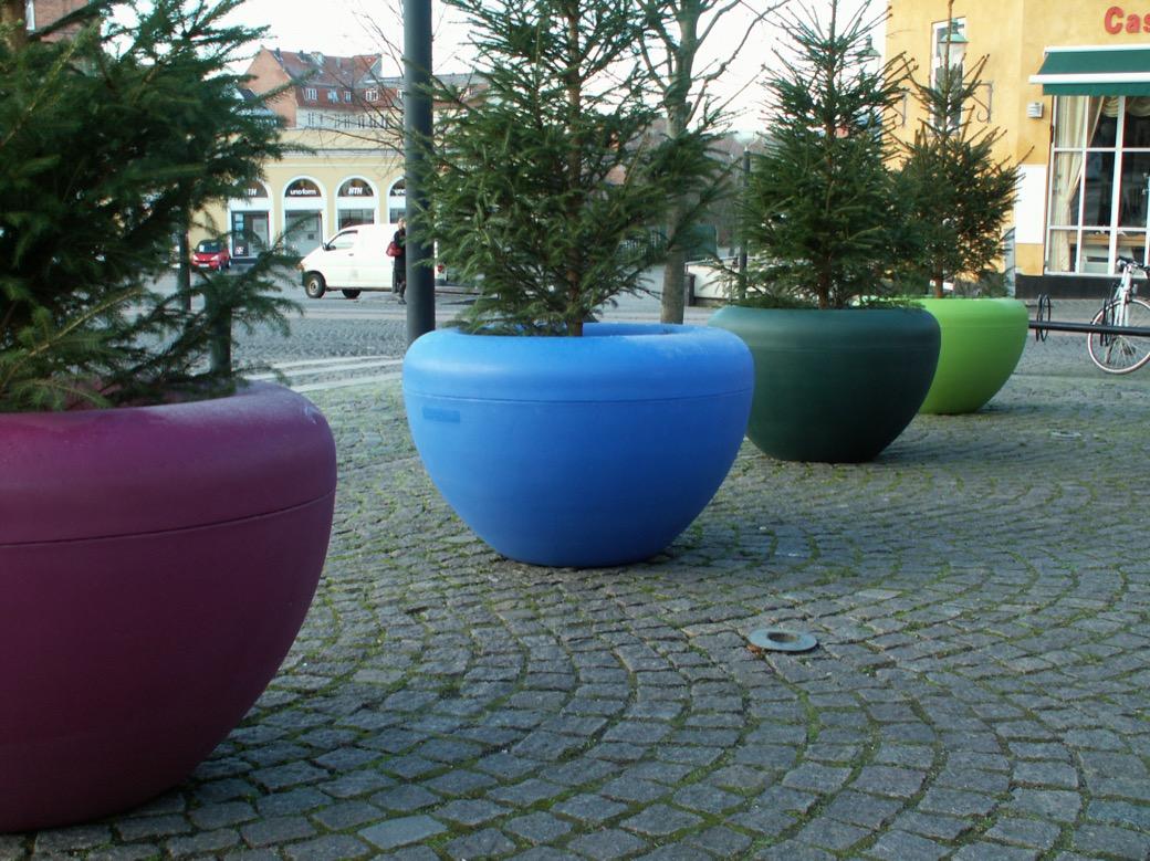 Scoop plantenbak voor een gezellige en kleurrijke buitenruimte