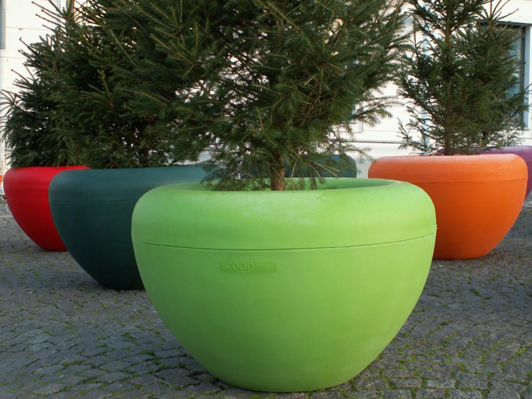 Scoop plantenbak geschikt voor kleine bomen