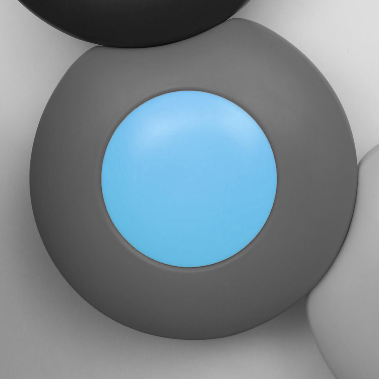 Scopi zitelement - grijs en blauw