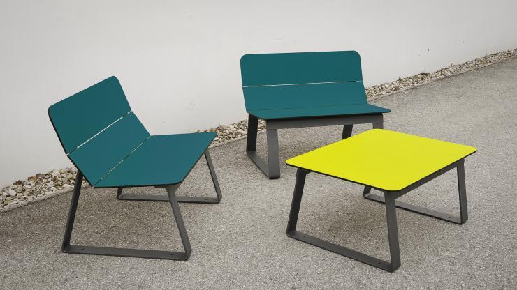 Superfly stoel beschikbaar in opvallende kleuren