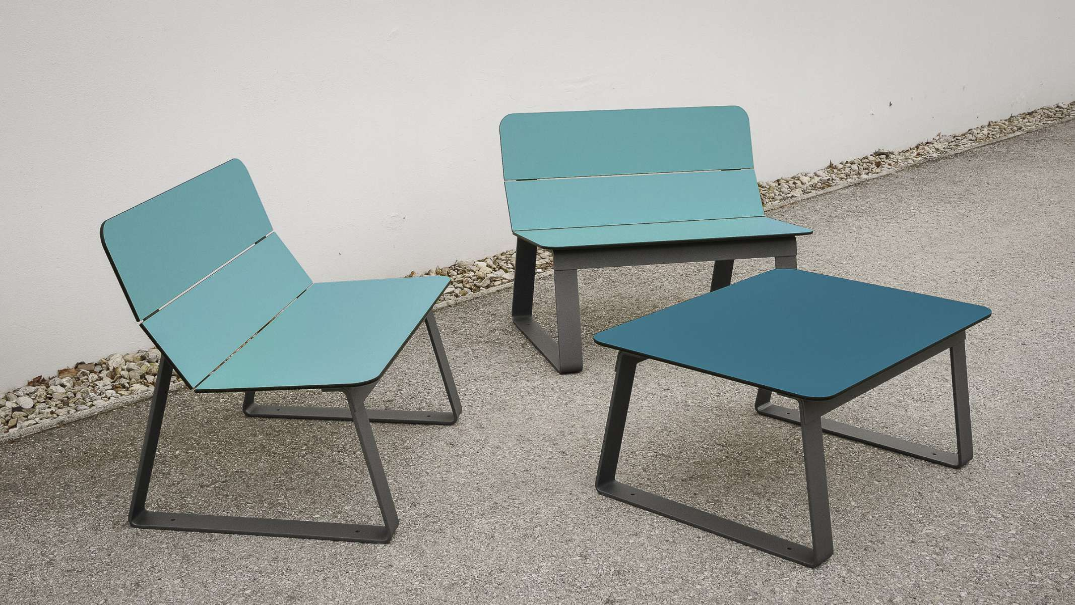 Superfly tafel - bijzettafel met Superfly stoelen
