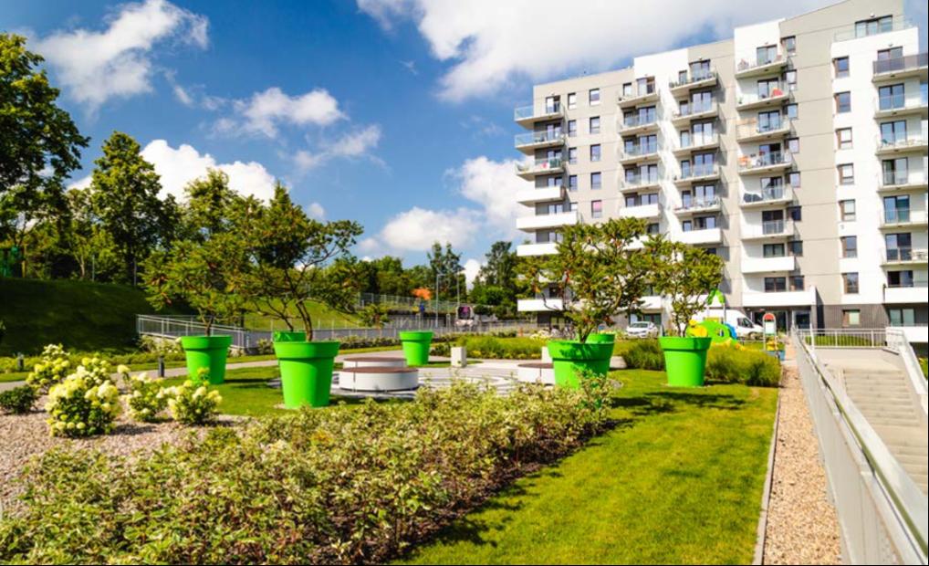 Gianto Classic Plantenbak voor parken en pleinen