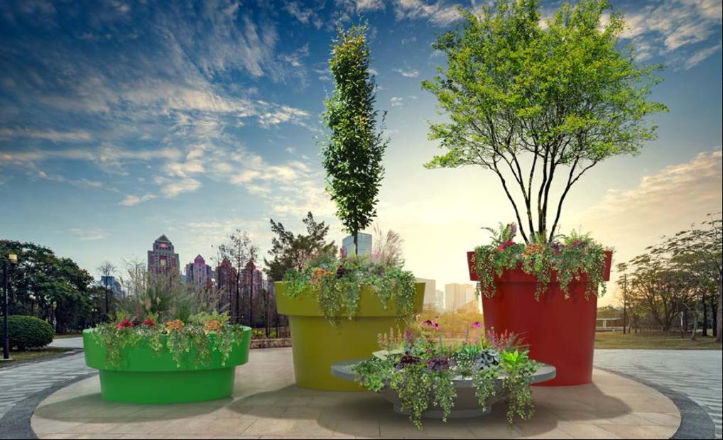 Gianto Grande Plantenbak geschikt voor bomen