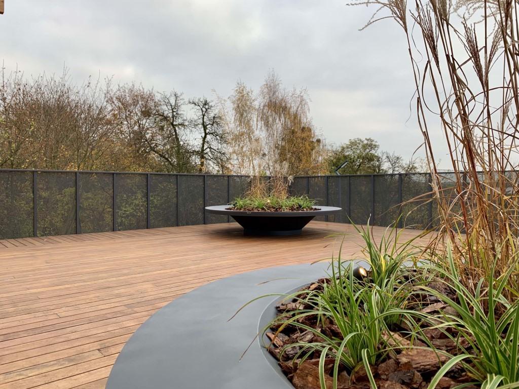Plane Ring Lux Plantenbak voor een sfeervolle buitenruimte