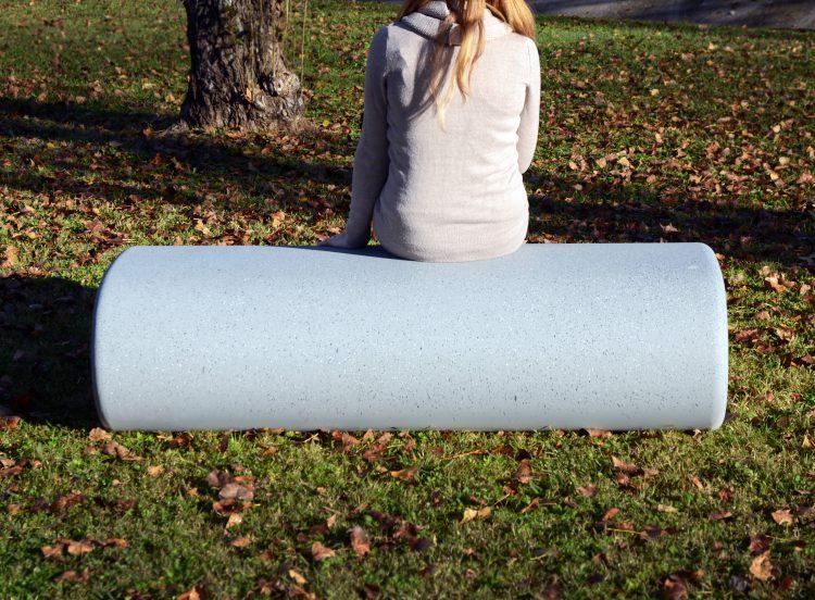 Cinnamon zitelement - voor parken en openbare buitenruimtes