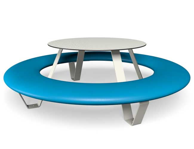 Buddy picknicktafel - Blauw
