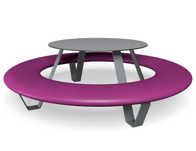Buddy picknicktafel - Paars