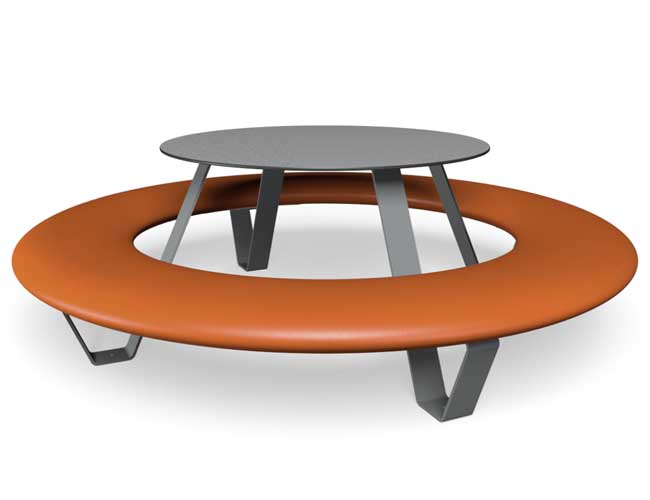 Buddy picknicktafel - Oranje