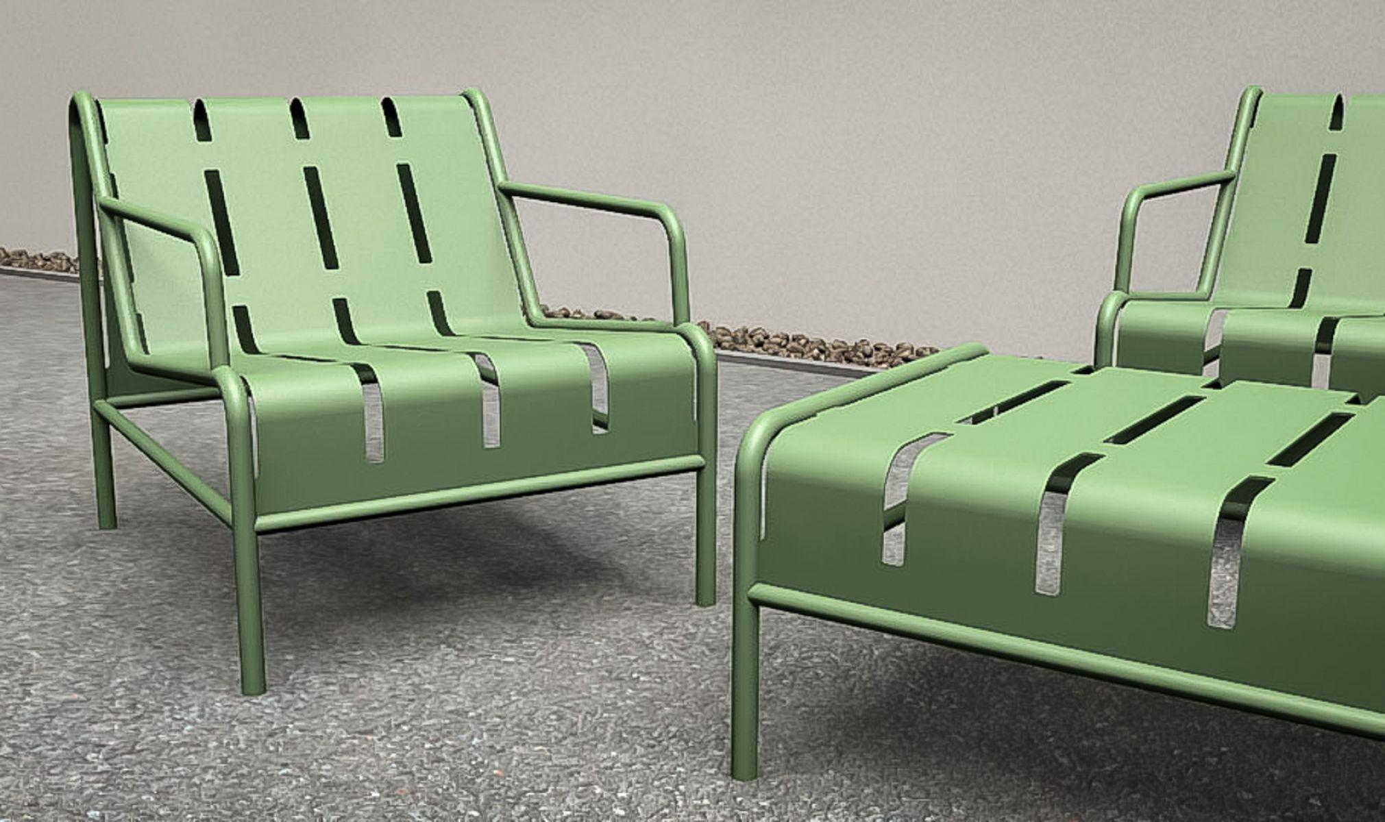 Chilly B tafel - Modern lounge meubilair voor (semi) openbare ruimte