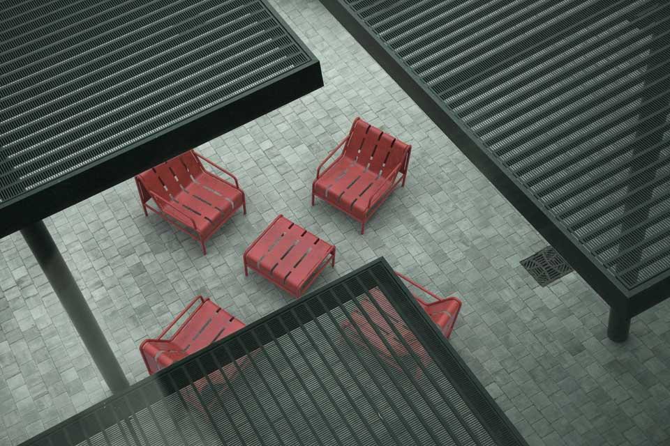 Chilly B tafel geschikt als bijzettafel met Chilly B stoelen