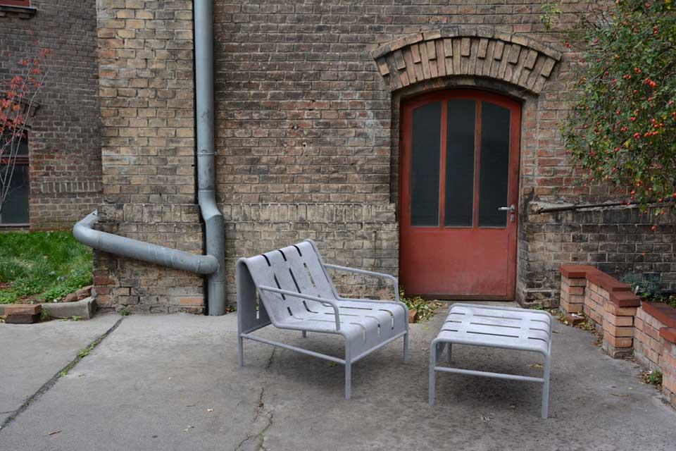 Chilly B tafel van staal geschikt voor binnen en buiten