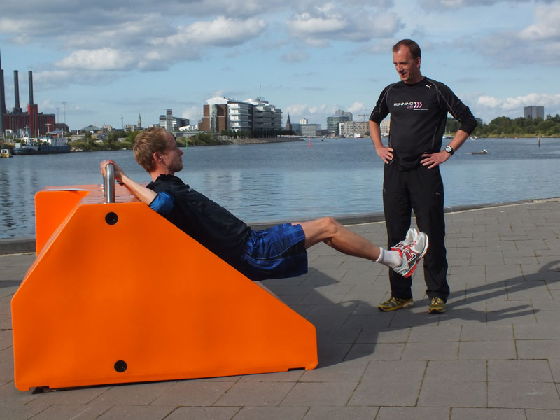 Fitstation sporttoestel - workout, crosstraining, bootcamp of crossfit les