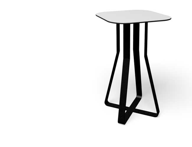Hot Shot tafel beschikbaar in verschillende hoogtes - bartafel