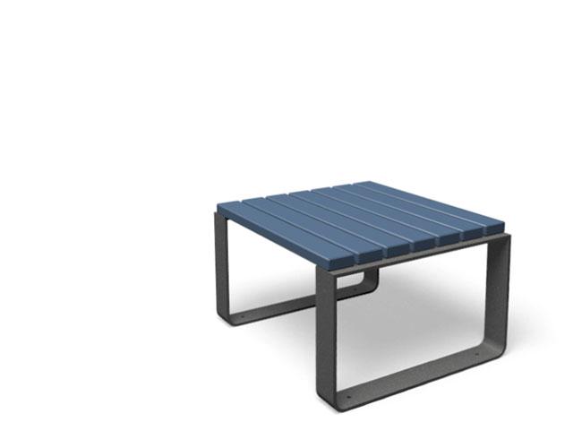 Mayfield tafel hout blauw