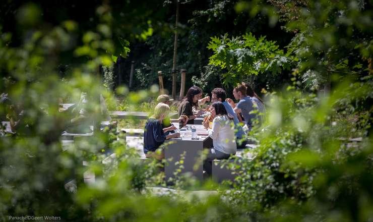 Passepartout Wood tafel - Geschikt voor binnen en buiten