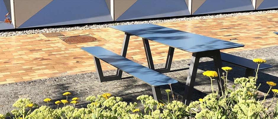 Picnic HPL picknicktafel - voor scholen, voor schoolplein en kantine