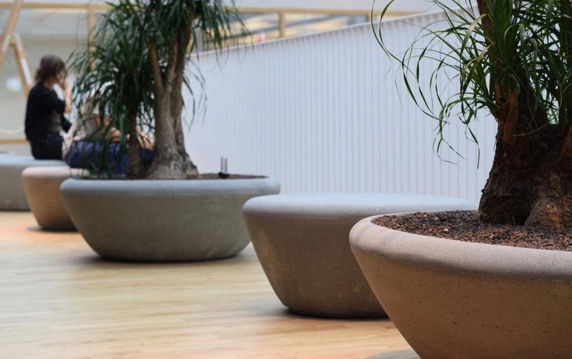 Plantenbak supercell ideaal voor de openbare ruimte