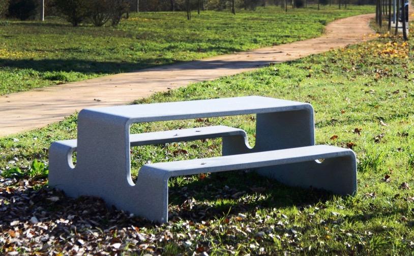 Tour picknicktafel is ideaal voor parken