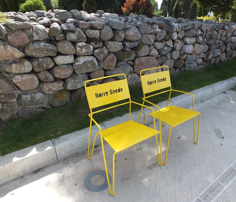Amager stoel kent een een klassiek eenvoudige uitstraling