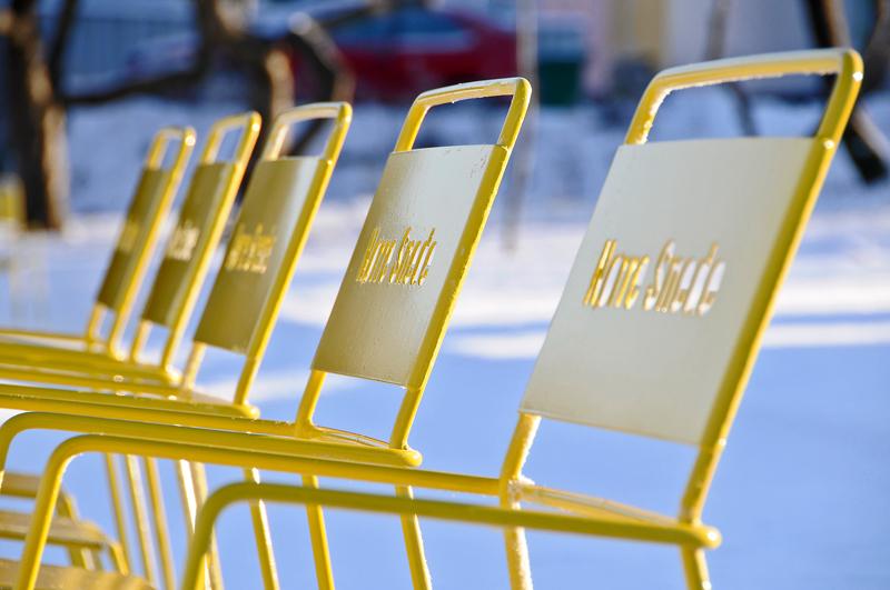 Amager stoel - gepersonaliseerde logo, tekst