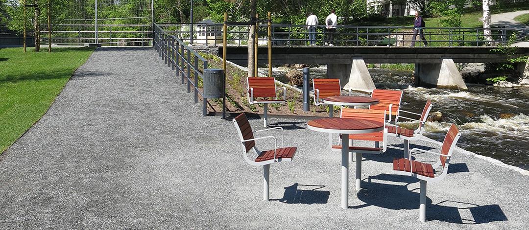 Parco tafel voor een comfortabele plek om te werken, ontmoeten of ontspannen