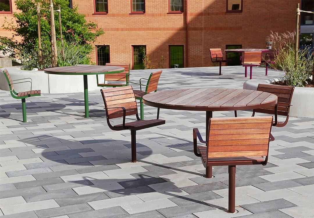 Parco tafel geschikt voor terrassen van horeca in de buitenruimte