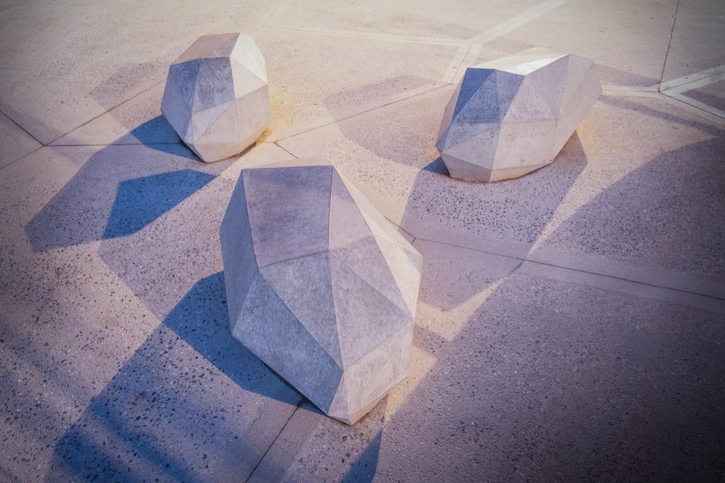 Stone zitelement - landschapselement